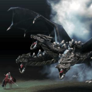 Богатырь и Змей Горыныч