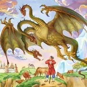Как выглядел Змей Горыныч