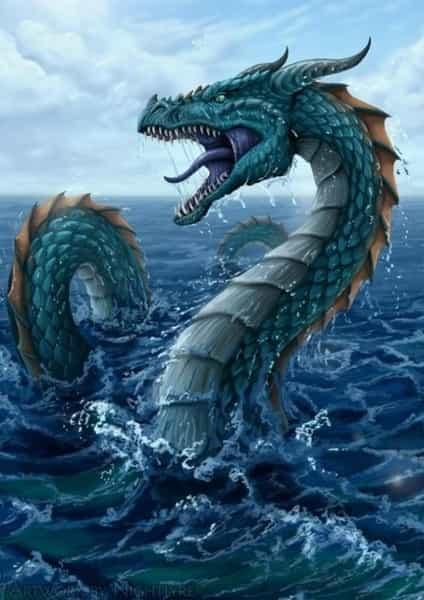 Морской змей в Калифорнии