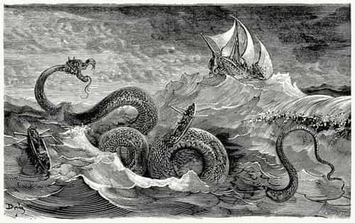 Древний морской змей