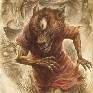 Псоглав из Сербской мифологии