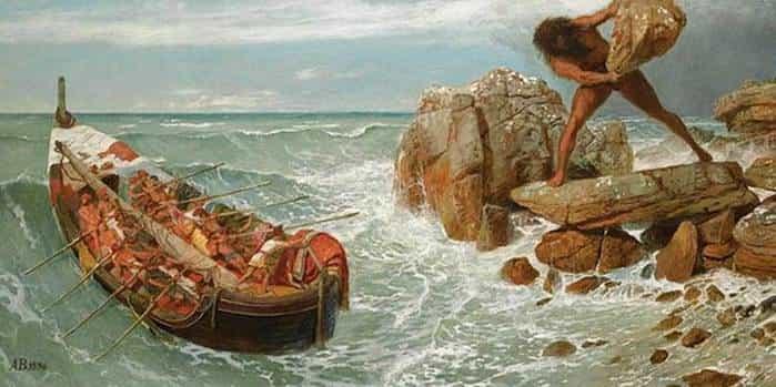 Одиссей и Полифем