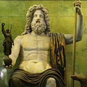 Зевс - главный бог Олимпа