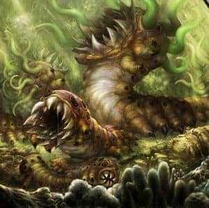 Огромный червь