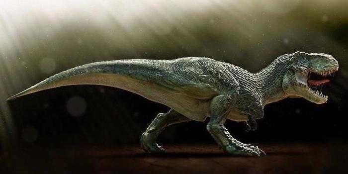 Огромный тираннозавр