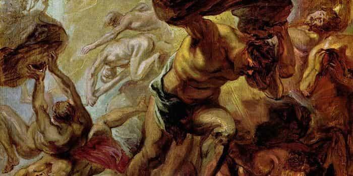 Сражение Урана с титанами