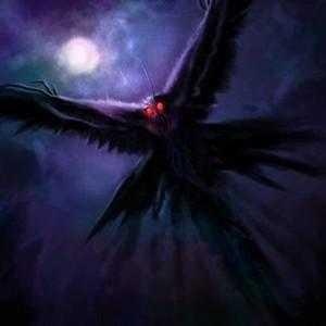 Человекоподобное существо с крыльями