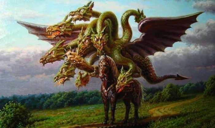 Чудо-юдо на коне