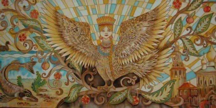 Птицы в мифологии славян. Алконост