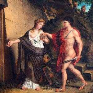 Ариадна и Тесей