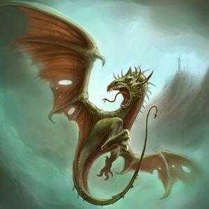 Драконообразное существо