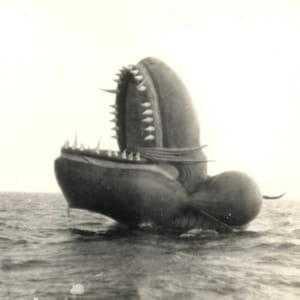 Надувной морской змей