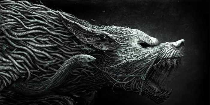 Волк и змея