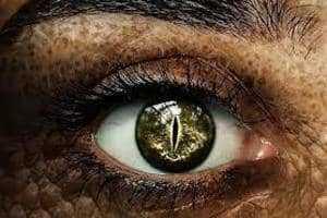 Глаз рептилоида
