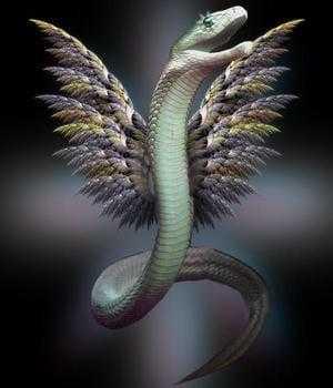 Змея с крыльями