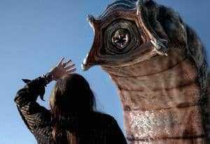 Гигантский червь и человек