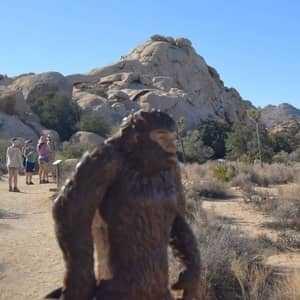 Статуя бигфута