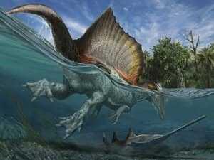 Динозавр с гребнем