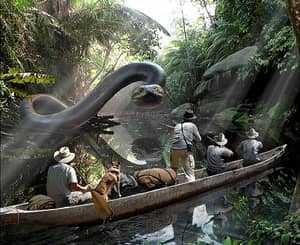 Гигантская змея