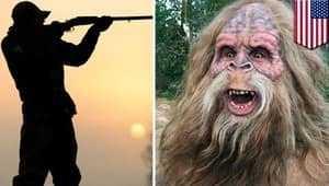 Охотник и бигфут