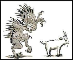 Чупакабра и коза