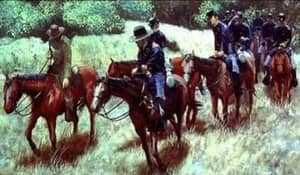 Солдаты на лошадях