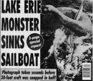 Монстр озера Эри