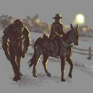 Мормон и снежный человек
