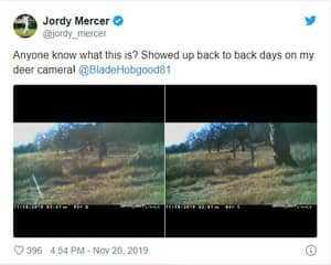 Твит Джорди Мерсера