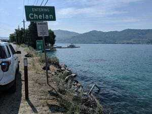 Озеро Челан