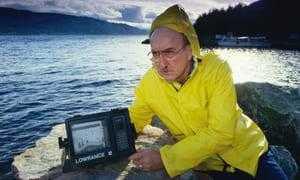 Исследование озера Лох-Несс с помощью сонара