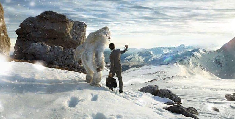 В штате Юта на видео засняли, как предполагают, снежного человека