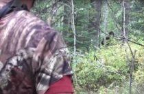 В Айдахо, США двое рыбаков заметили зеленоглазого гоминида