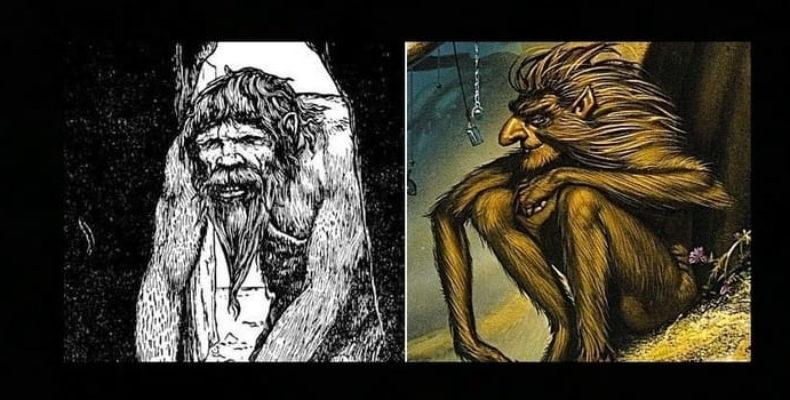 Человек-обезьяна живет в Ирландском замке