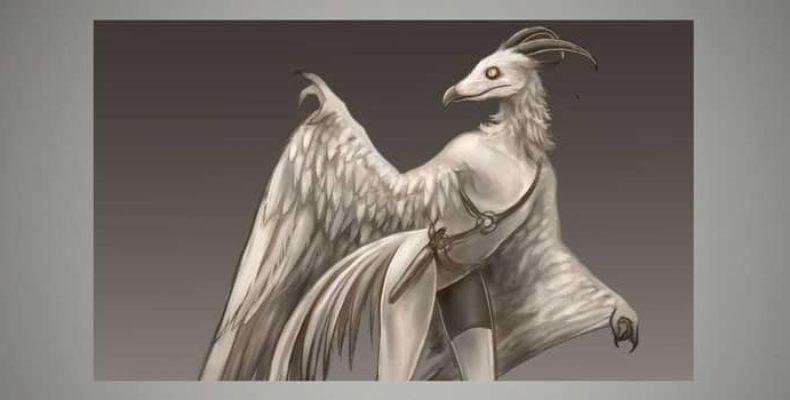 Человек-птица в Южной Дакоте