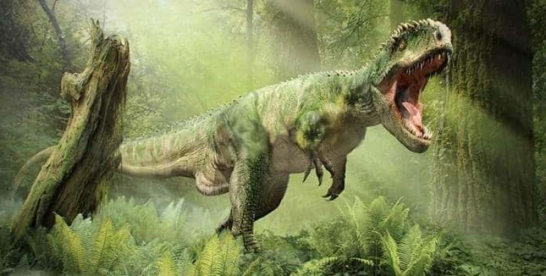 Гигантский тираннозавр