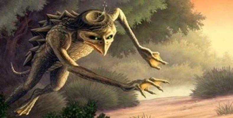 Речные монстры и легендарные существа Японии