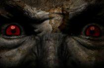 Бигфут со светящимися красными глазами в Северной Каролине