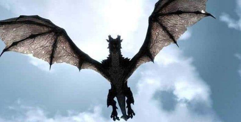 Шокирующие видео кадры из Америки: дракон над штатом Монтана