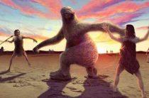 Жители Америки охотились на 2-метровых ленивцев 11 тыс. лет назад