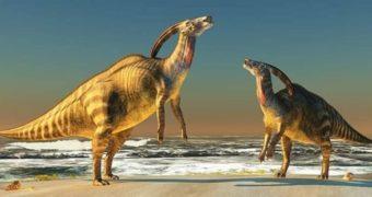 Трубазавр — динозавр с музыкальным инструментом на голове