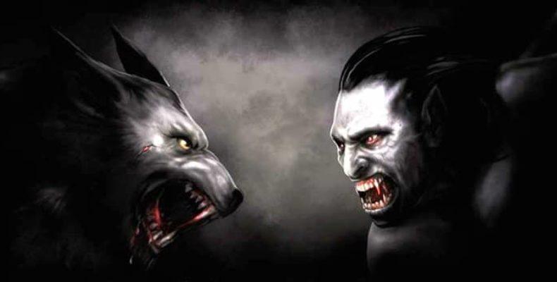 История про вампиров и оборотней: война и ее причины
