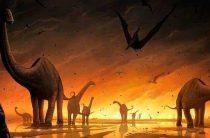 Вымирание динозавров началось до падения метеорита на Землю