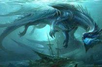Таинственный «водяной дракон» озера Челан